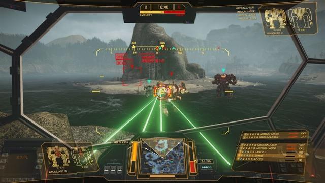 Компенсация лагов для оружия в MechWarrior Online - 1