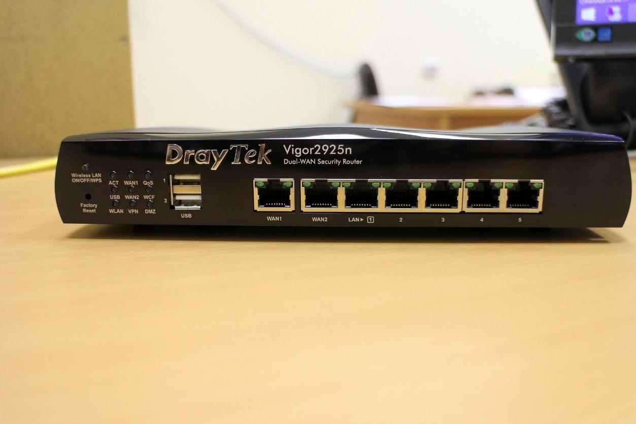 Обзор маршрутизатора Draytek серии 2925. Часть первая: общий обзор, характеристики и тесты - 37