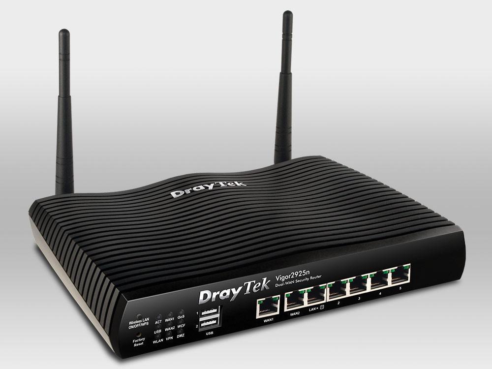 Обзор маршрутизатора Draytek серии 2925. Часть первая: общий обзор, характеристики и тесты - 1