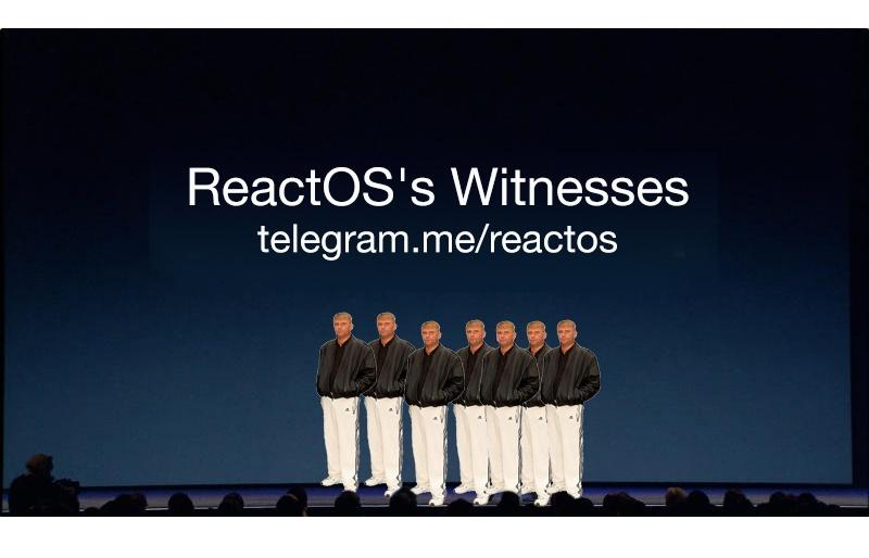 Ретроспективная презентация очередного релиза ReactOS - 3