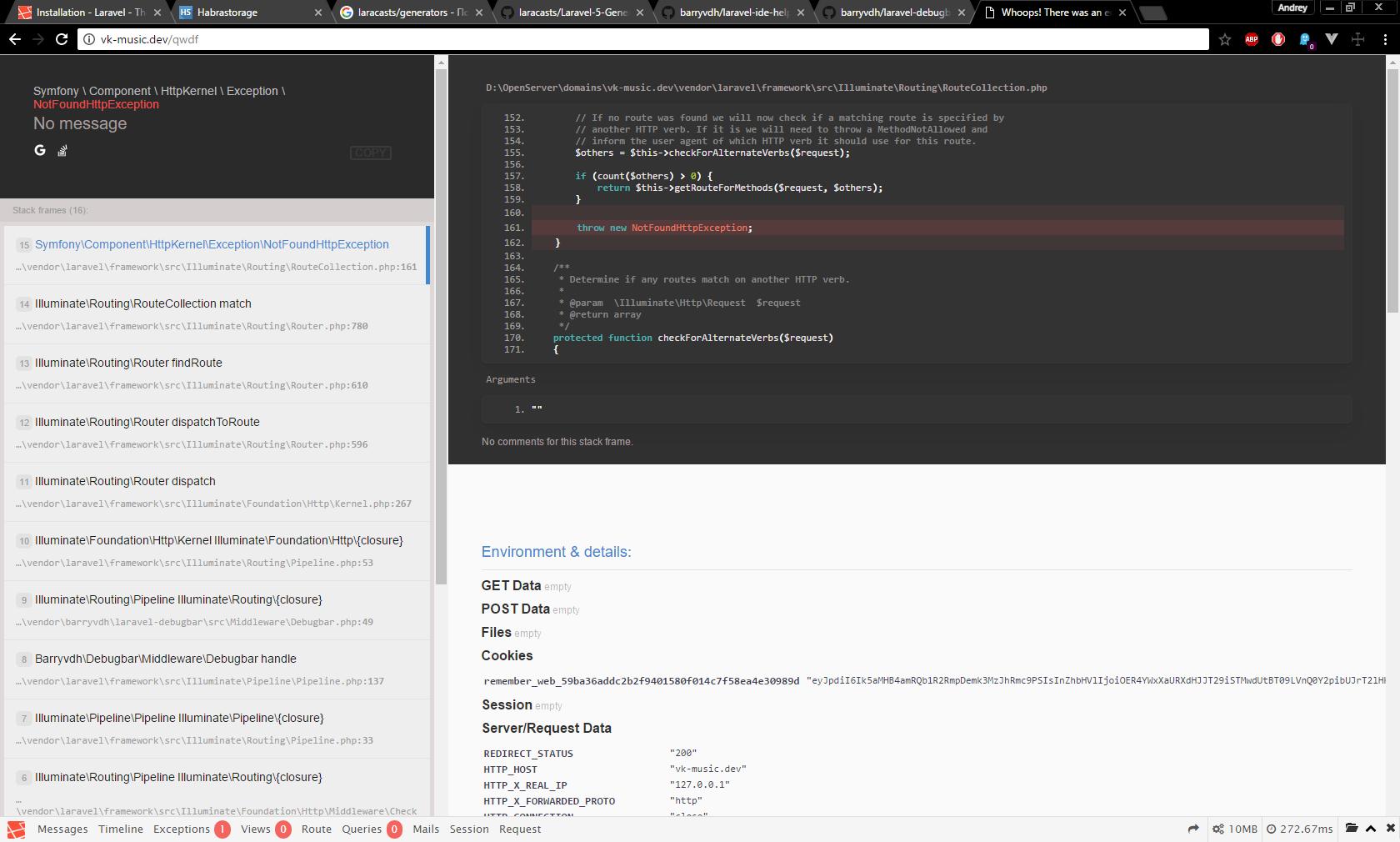 Laravel 5.3: Подготовка к разработке (для новичков) - 22