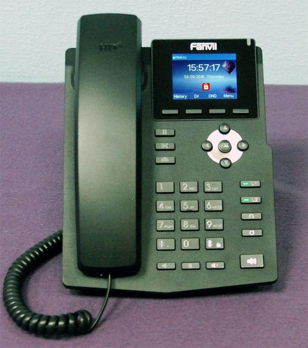 Новый IP-телефон Fanvil X3S - 2