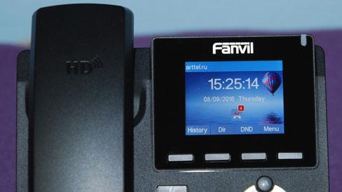 Новый IP-телефон Fanvil X3S - 5