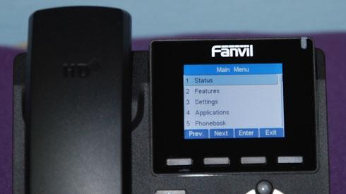 Новый IP-телефон Fanvil X3S - 7