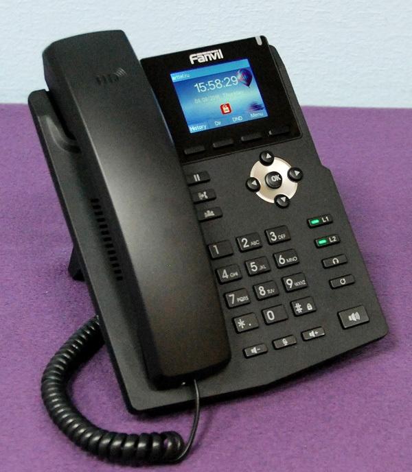 Новый IP-телефон Fanvil X3S - 1