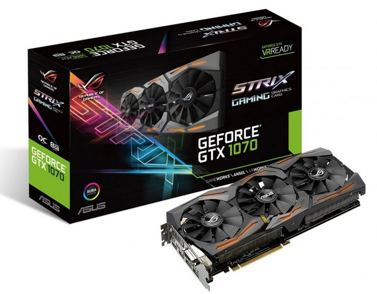 GeForce ROG Strix GeForce GTX 1070