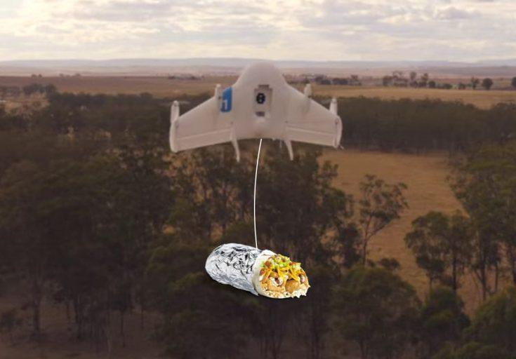 Дроны Project Wing доставят еду студентам