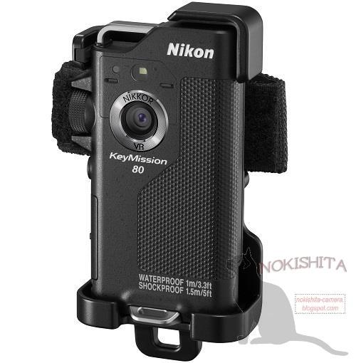 Появились изображения экшн-камер Nikon KeyMission 80 и KeyMission 170