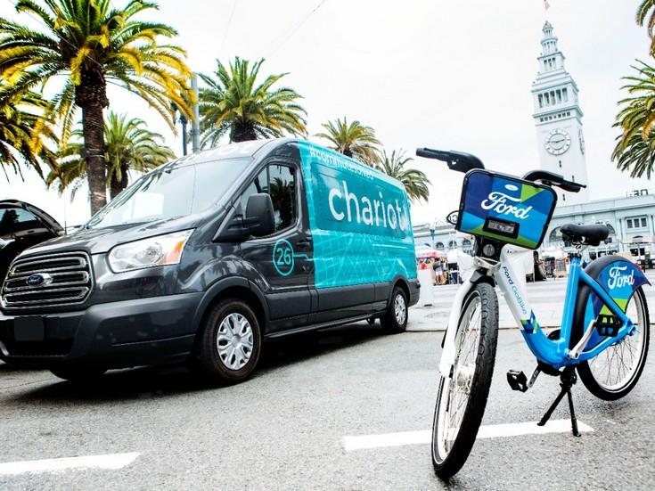 Ford сообщает о поглощении Chariot и сотрудничестве с Motivate