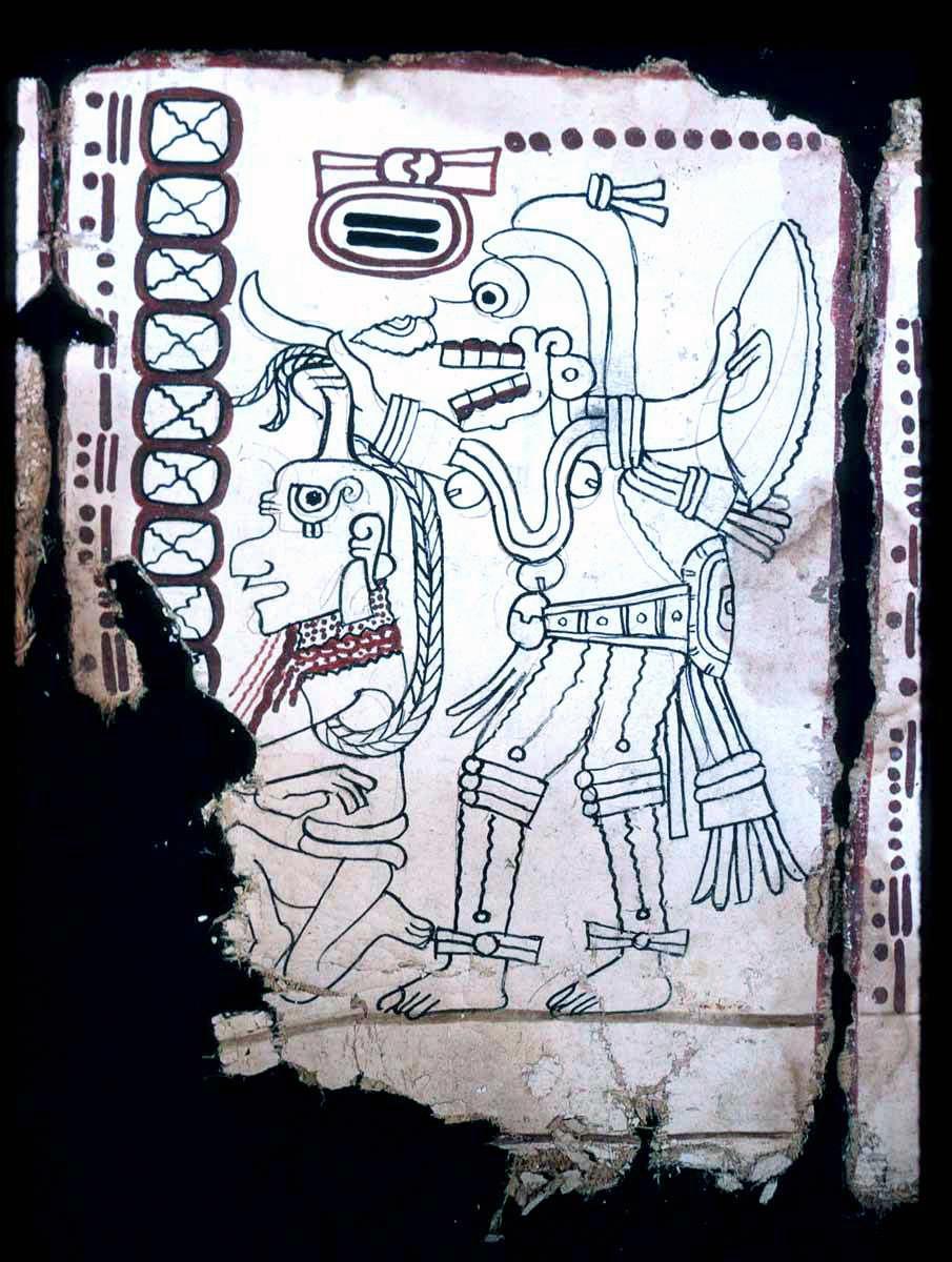 Доказана аутентичность Кодекса Гролье — четвёртого сохранившегося кодекса майя - 2
