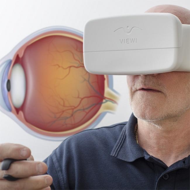 Гарнитура для смартфона Viewi при цене $26 позволит выявить глаукому на ранней стадии
