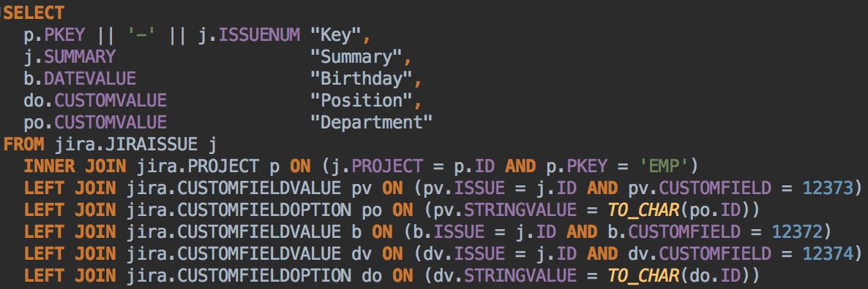Как отобразить динамическую выгрузку из БД на страницах Atlassian Confluence? - 10