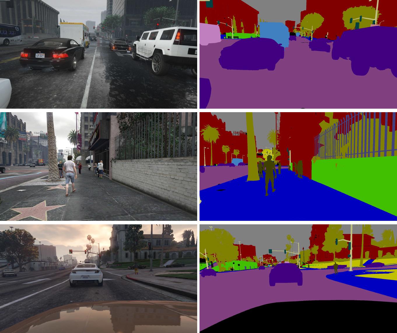 Нейросеть машинного зрения обучают на реалистичных компьютерных играх - 1