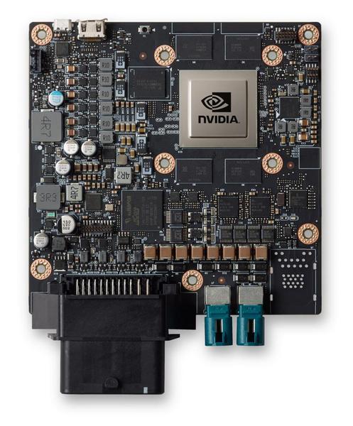 Nvidia представила автомобильный ПК Drive PX 2 с одной SoC Parker