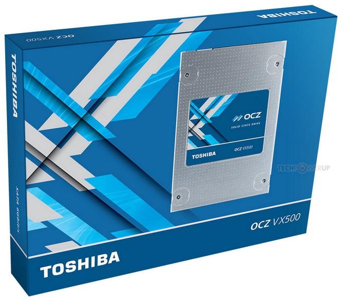 SSD OCZ VX500 доступны в версиях объёмом до 1 ТБ