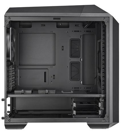 Для корпуса Cooler Master MasterCase Pro 3 можно докупать новые элементы и модули