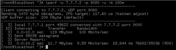 Настройка и использование ограничения скорости для Open vSwitch с DPDK - 5