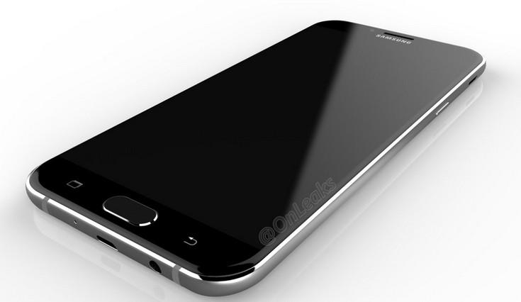 Новый смартфон Samsung Galaxy A8 будет похож на флагманские модели