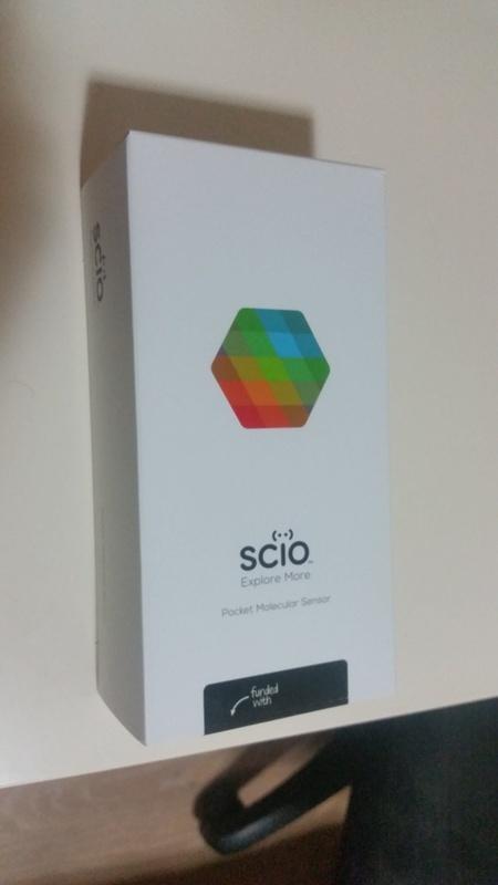 Портативный спектрометр SCiO - 2