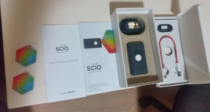 Портативный спектрометр SCiO - 4