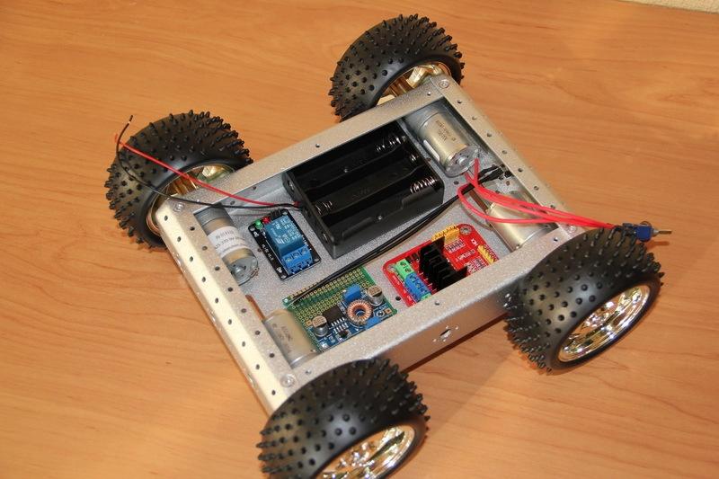 Роботостроительство – делаем базовую платформу для будущего робота - 28