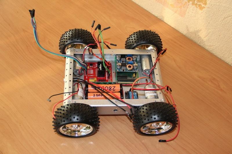 Роботостроительство – делаем базовую платформу для будущего робота - 55