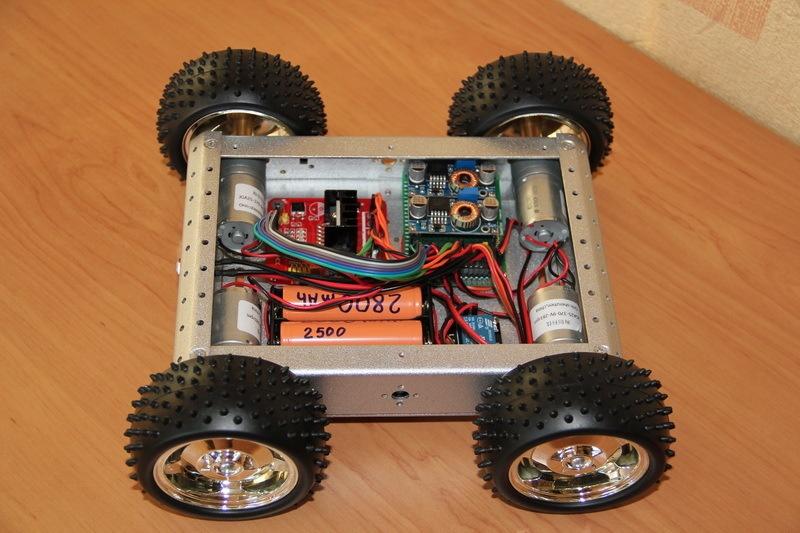 Роботостроительство – делаем базовую платформу для будущего робота - 61
