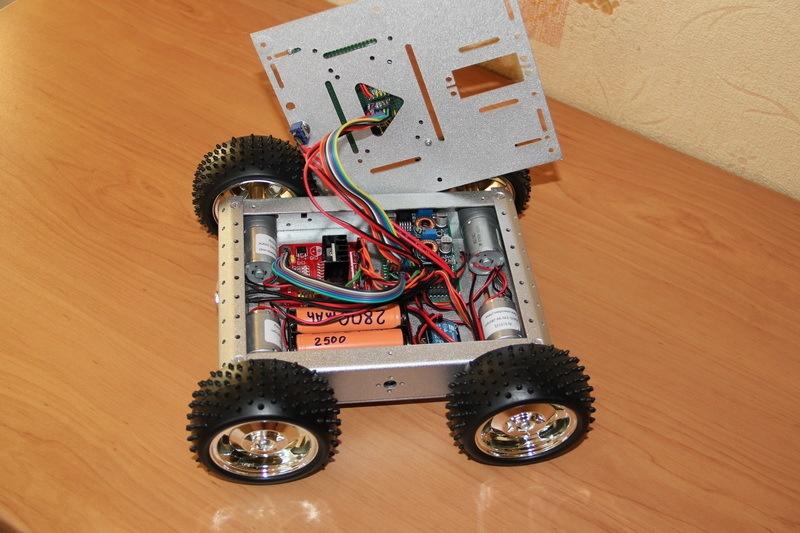 Роботостроительство – делаем базовую платформу для будущего робота - 83