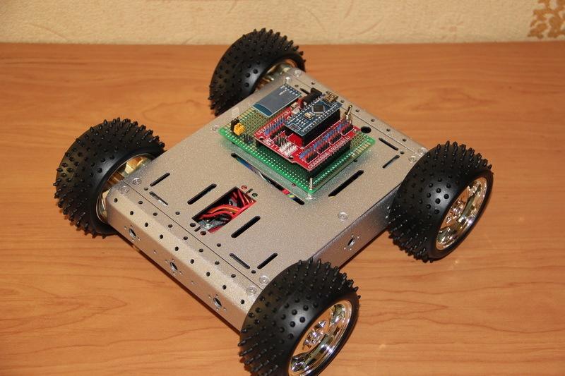 Роботостроительство – делаем базовую платформу для будущего робота - 90