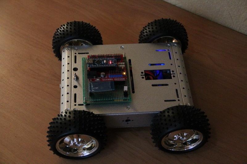 Роботостроительство – делаем базовую платформу для будущего робота - 92