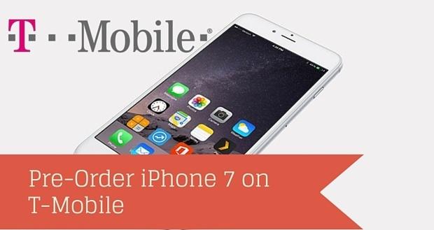 Смартфон iPhone 7 установил рекорд по объему предварительных заказов в T-Mobile