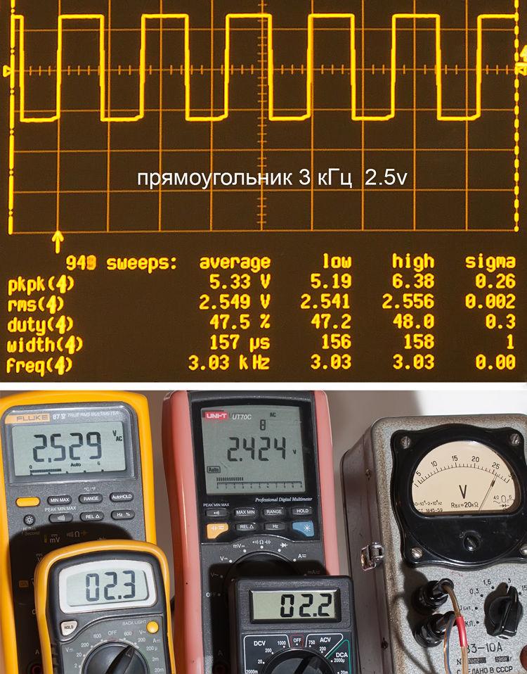 Тестирование мультиметров, а также об ошибках измерения - 18