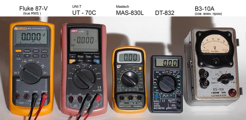 Тестирование мультиметров, а также об ошибках измерения - 2