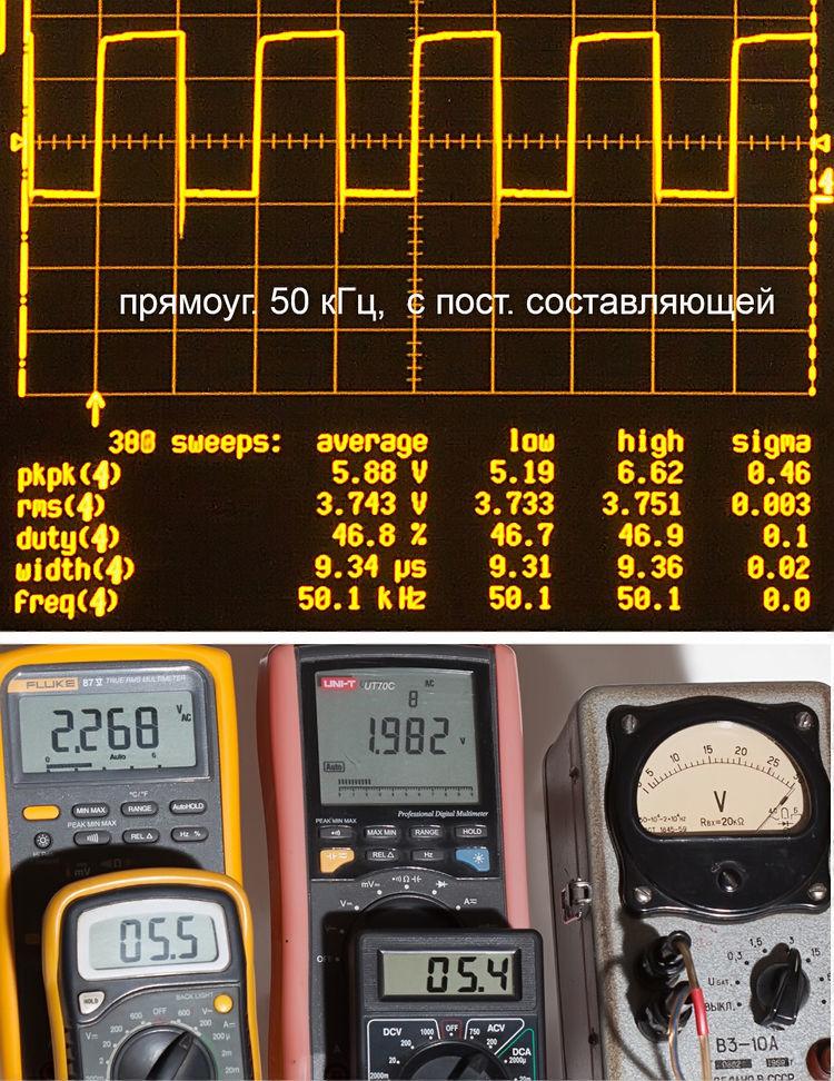 Тестирование мультиметров, а также об ошибках измерения - 23
