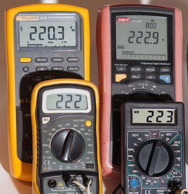Тестирование мультиметров, а также об ошибках измерения - 9