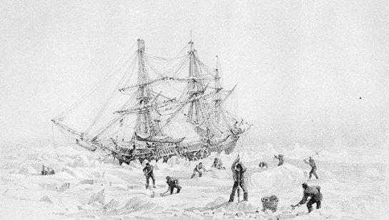 В Арктике обнаружили известный корабль, который ушел на дно 170 лет назад