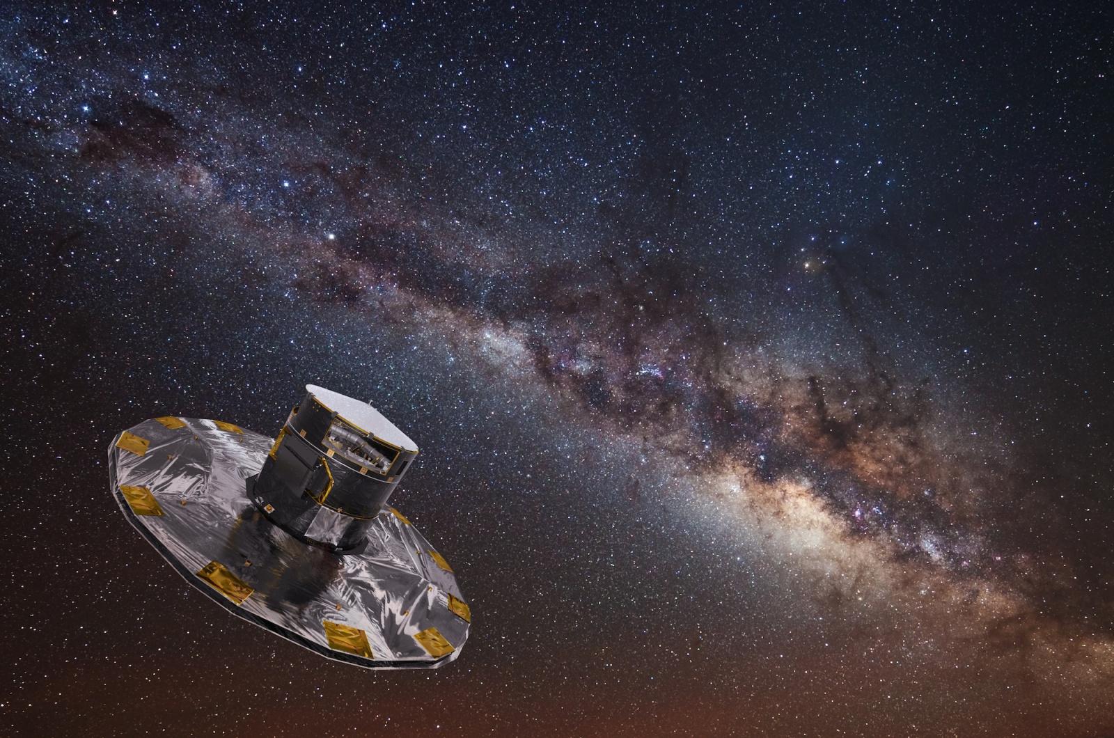 Космический зонд Gaia составил подробную объемную карту нашей Галактики - 2