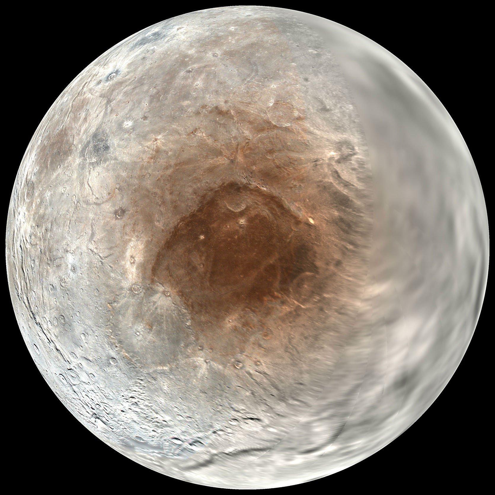 Опубликованы расчёты для теории происхождения пятна Мордор на северном полюсе Харона - 4