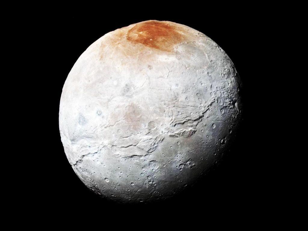 Опубликованы расчёты для теории происхождения пятна Мордор на северном полюсе Харона - 1