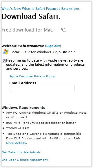 Судя по всему, лучшие времена браузера Safari позади - 7