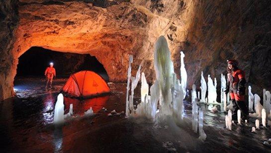 В сибирской пещере нашли новые виды фауны