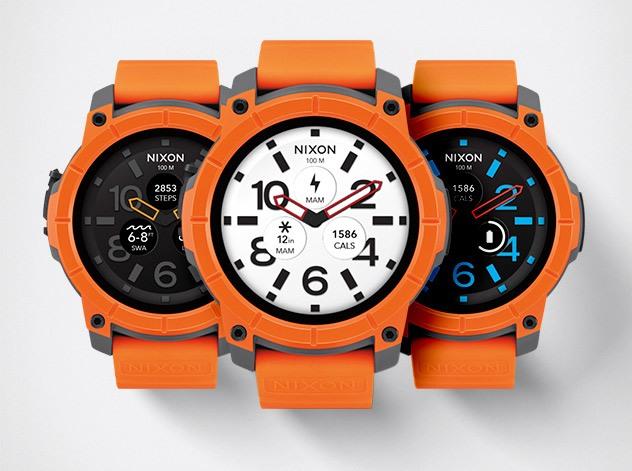 Часы Nixon Mission оценили в $400