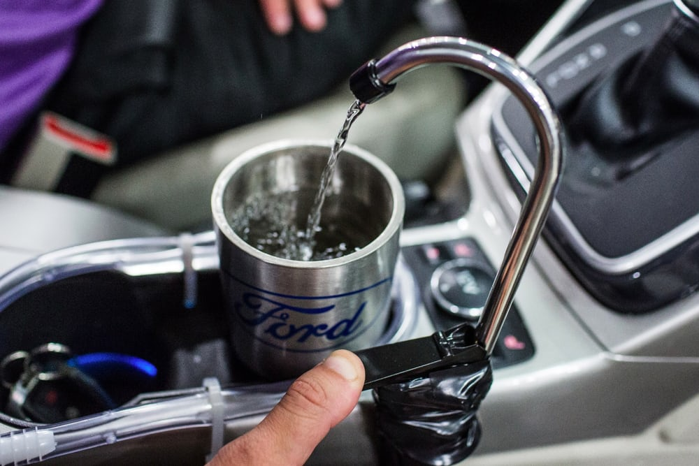 Инженер Ford создал автокондиционер, который конденсирует питьевую воду из воздуха - 2