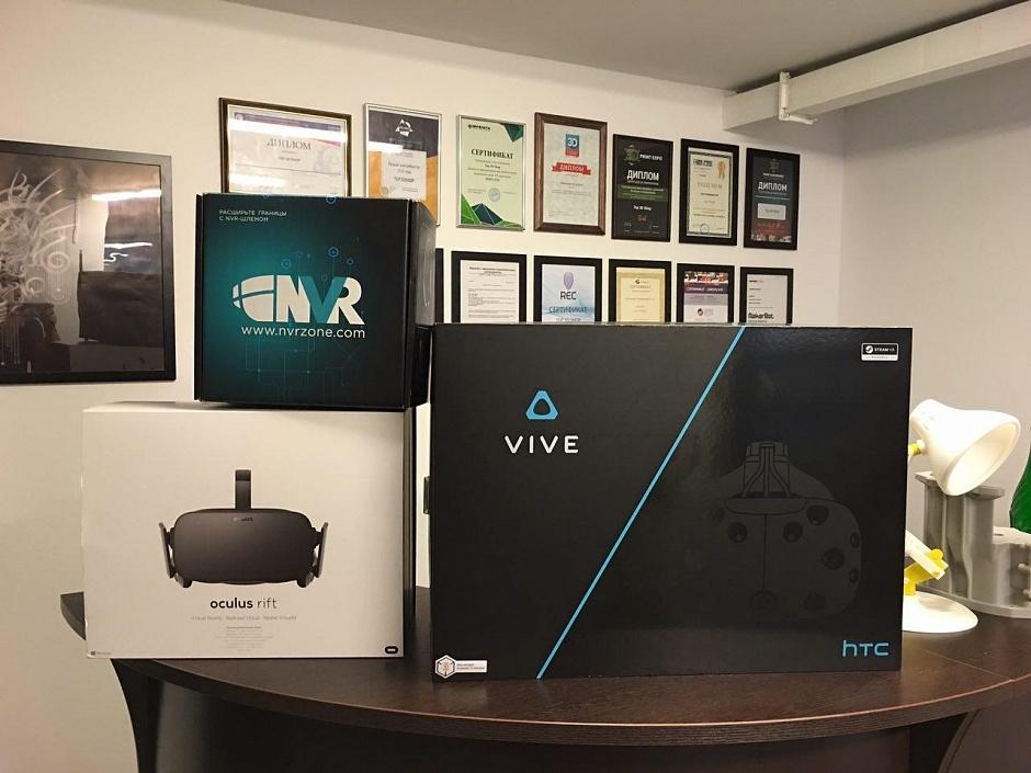 Обзор шлема виртуальной реальности HTC Vive - 2