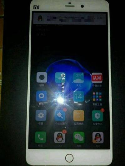 Первая фотография смартфона Xiaomi Mi 5s демонстрирует новую кнопку Home
