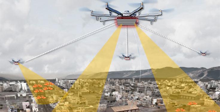 Существующие системы малоэффективны для отслеживания дронов в городских условиях