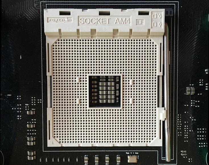 Разъем AM4 рассчитан на микросхемы в корпусе PGA 1331