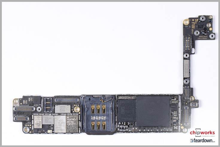 Специалисты Chipworks разобрали смартфон Apple iPhone 7
