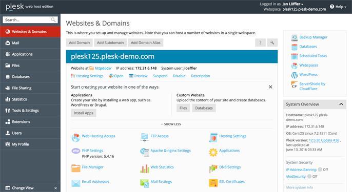 Полное руководство по веб-консолям 2016: cPanel, Plesk, ISPmanager и другие - 4