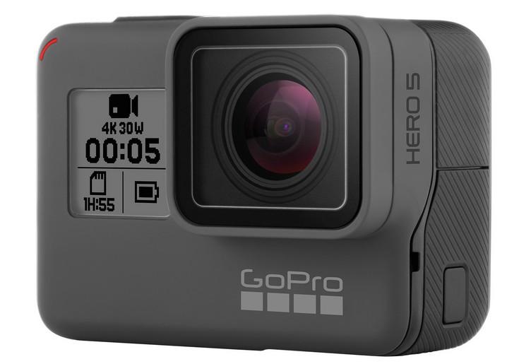 Камеры GoPro Hero5 Black и Hero5 Session оцениваются в 400 и 300 долларов